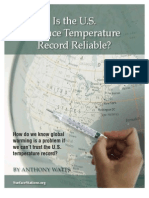 Surface Stations-Gate - Is the U.S. Temperature Record Reliable?