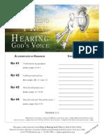 4 Keys to Hearing God's Voice