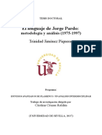 El lenguaje de Jorge Pardo