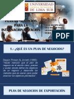 Plan de Internacionalizacion de Empresas