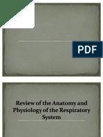 Anatomy of Respiratory Tract