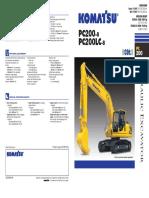 Profile KOMATSU Excavator PC200.pdf