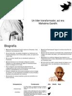 Mahatma Gandhi - Liderazgo