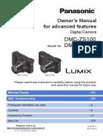 Camera Dmc-zs100 Adv en Om