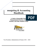 Business - Handbook of Budgeting and Accounting