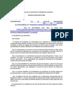 Ley de contratación de ciudadanos extranjeros en Perú