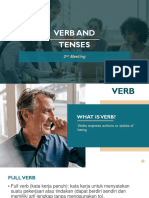2 Verb and Tenses