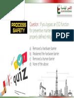 Process Safety Management Quiz