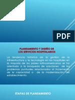 Tema 1 y 2 Planeamiento y Diseño Hospitalario