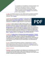 COLOMBIA MEDIOS DE COMUNICACION