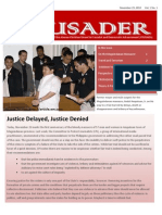 The Crusader - November 23, 2010 (Vol. 1, No. 1)