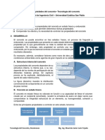 6. Resumen de Propiedades de Concreto