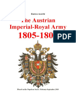 ACERBI the Austrian Imperial Army 1805 09