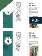 Brochure Picasso