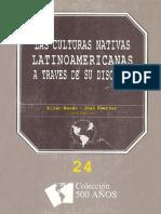 Las Culturas Nativas Latinoamericanas a Traves de Su Discurso
