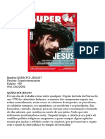 Superinteressante 189 - Quem Foi Jesus