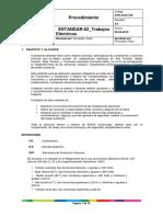 ESTANDAR-02 Trabajos Eléctricos