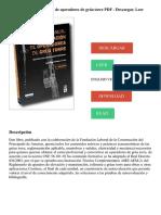 Manual Para La Formación de Operadores de Grúa Torre