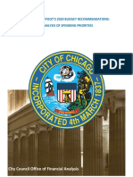 COFA Analysis of Chicago's 2020 Expenditure Priorities