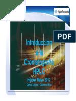 INTRODUCCION A LA CROMATOGRAFIA LIQUIDA