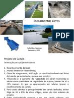 Aulas Projeto de Canais e Ressalto Hidráulico