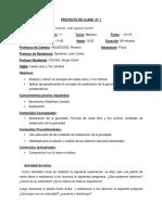 PROYECTO DE CLASE  N°000