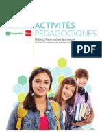 Activitees pedagogiques