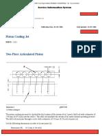 Piston Cooling Jet 3126B