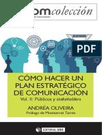 Cómo Hacer Un Plan Estratégico de Comunicación Vol. II. Públicos_nodrm