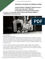 Caça aos Homossexuais na Ditadura Militar