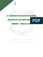Bases 9no Concurso Investigacion Junior 2019