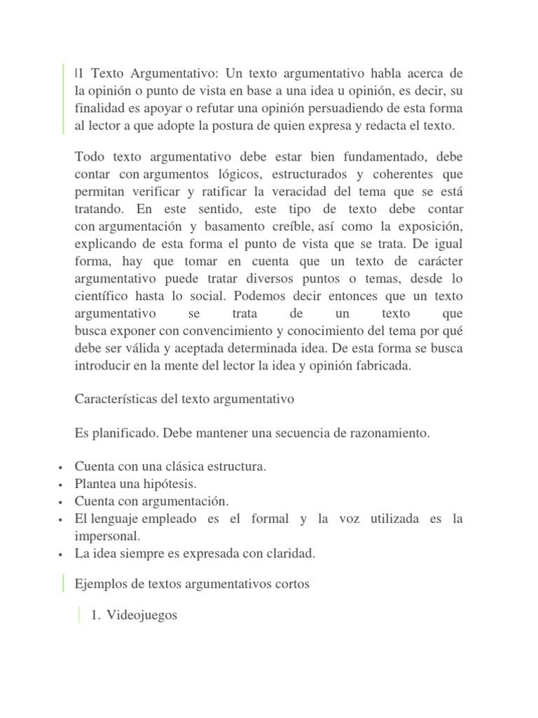 Texto Argumentativo Vitamina C Perros