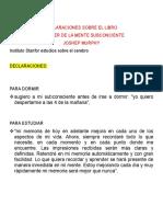 DECLARACIONES SOBRE EL LIBRO.docx