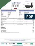 Storm fiber pakistan invoice
