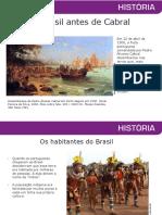 Brasil antes de Cabral
