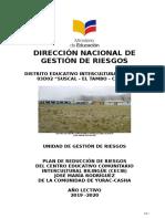 Plan de Gestión de Riesgos 2 018-2 019 Jose Maria Rodriguez