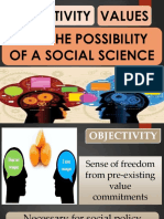 2A Grp1 Report on Objectivity Values Possibility of Social Science