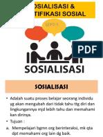 SOSIALISASI & STRATIFIKASI SOSIAL