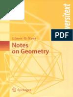 Note on geometry [Springer]- Elmer G. Rees