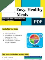 adult nutrition presentation