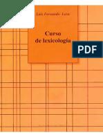 Lara Luis Fernando - Curso de Lexicologia