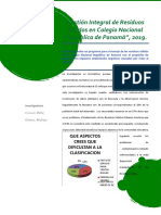 Residuos Solidos- 2019