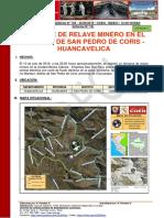 Informe de Emergencia Nº 759 30sep2019 Derrame de Relave Minero en El Distrito de San Pedro de Coris Huancavelica 15 002