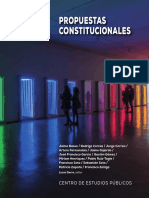 Propuestas Constitucionales Cep