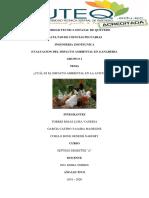 Impacto Ambiental en La Avicultura