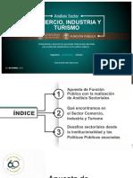 Analisis Sector Comercio Industria Turismo
