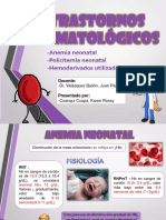 TRASTORNOS HEMATOLOGICOS