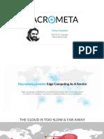Macrometa Websummit