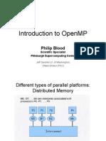 OpenMP Basics