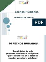 4.- Derechos de Mujeres Violencia de Genero